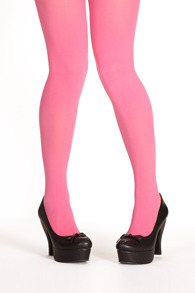 Margot tights PLUS - kinky pink - Plus size-Margot tights kinky pink