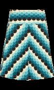 Border skirt Frisky green