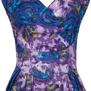 Florence dress, Purple floral
