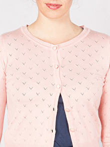 Lovelyn Cardigan Blush, Mme YèYè - M