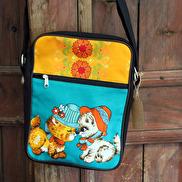 Handväska Retro katt, Huisteil
