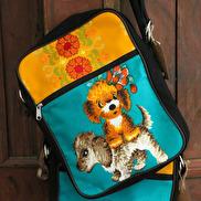 Handväska Retro Hund, Huisteil