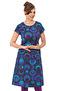 Alice klänning cirklar lila - XL