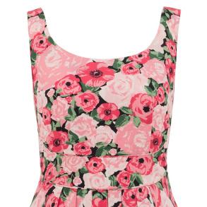 Isobel dress - Paris Rose Garden - S
