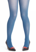 Margot tights PLUS -  Turkey snow