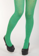 Margot tights Ms Greens Double Flirt