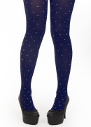 Margot tights Indigo Lust Love