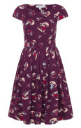 Claudia dress - Vintage skiers
