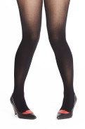 Margot tights PLUS -  Black Dream