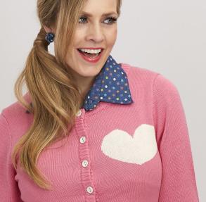 Bubblegum Pink kofta, Margot - L