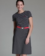 Adriane dress Striped, Mme YèYè