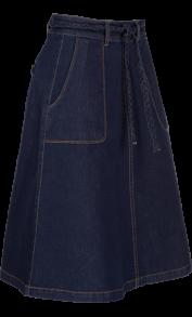 Rosa kjol denim - King Louie - 40