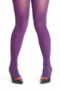 Margot tights  Purple drops - Margot tights Purple drops