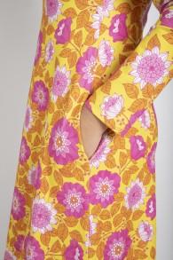 Feel Good Dress, sunflower - Vintage in my heart - M