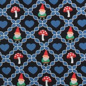 Kjol Gnome love black - Tante Betsy - S
