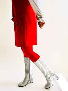 Liva Silver boots - Nordic Shoepeople - 39