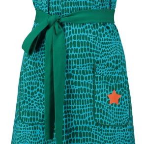 Dress Animal green, Tante Betsy - S