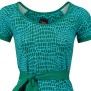 Dress Animal green, Tante Betsy