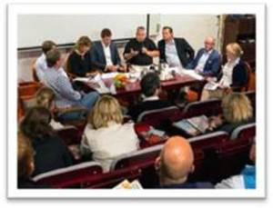 Paneldebatt i Almedalen 2014