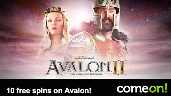 Hämta dina gratissnurr i Avalon II hos ComeOn!