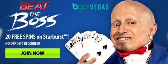 200 gratissnurr för nya kunder hos BGO Vegas!