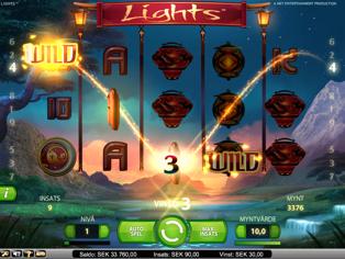 Nya NetEnt-spelet Lights