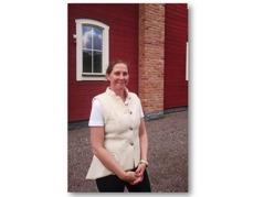 Carina vid Arena 2015 Hästfestivalen vid Sparreholms Slott hon hade clinics och undervisning där