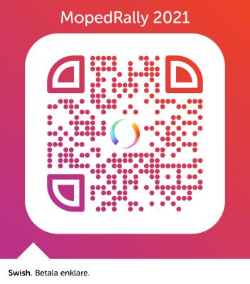 Startplats i mopedrally 2021