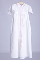 Vit dopklänning