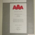 AAA Högsta kreditvärdighet 2008