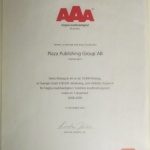 AAA Högsta kreditvärdighet 2010