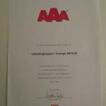 AAA i kreditvärdighet Lotsatorgruppen i Sverige 2006