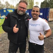 År 2017 medverkade vi i flera avsnitt av Arga Snickaren med Adam Alsing!