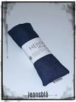 jeansblå linne