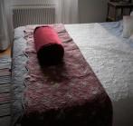 bolster säng