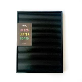 Letter board svart 30x40cm - Letter board svart 30x40cm
