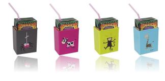 Tetrahållare till barn 4pack -