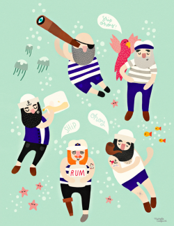 Sailor Friends - Poster  - Sailor friends