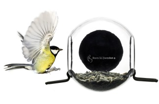 Fågelmatare m sugpropp -