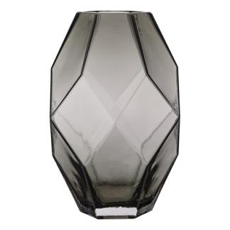 Grå glasvas från Bloomingville -