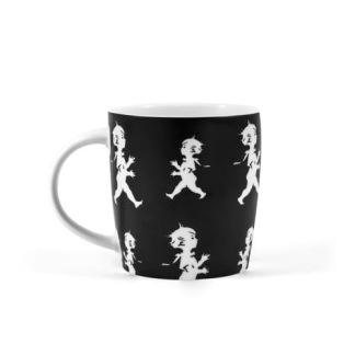 Kaffekopp från Solstickan - kaffekopp svart