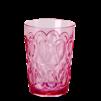 Swirly Embossed Glass Acrylic - Swirly Embossed Glass Acrylic pink