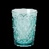 Swirly Embossed Glass Acrylic - Swirly Embossed Glass Acrylic mint