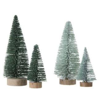 Julgranar från Bungalow liten grön/mint - Julgran grön 6cm