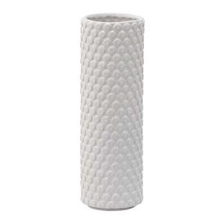 Prickig vit vas  från Bloomingville - Prickig vit vas