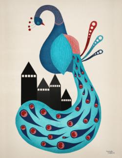 Peacock - Poster - Peacock
