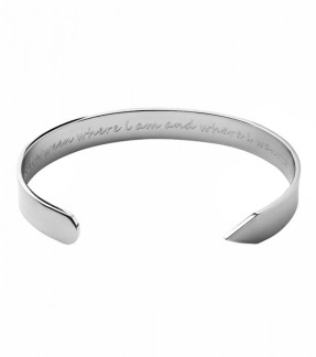 Armband Thoughts steel -