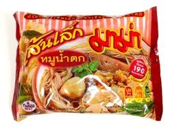 Mama Moo Nam Tok (Pork Rice Noodle)