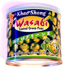 Khao Shong Wasabi Green Peas -