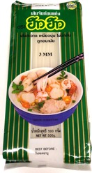 How How Rice Noodle 3mm 500g